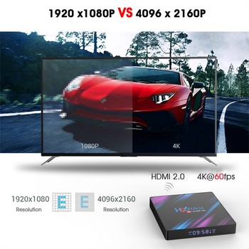 2020 H96 MAX Android 9.0 Smart TV Box 4GB RAM 64GB ROM RK3318 H96Max smart tv